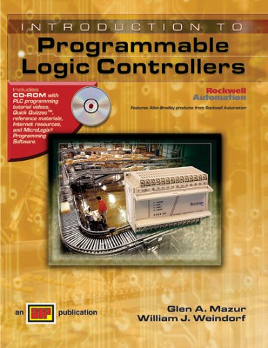 Introduction to Programmable Logic Controllers - Textbook - Hard-cover with CD-ROM - Amer Technical Pub - AT-1375 - ISBN: 082691375X - ISBN-13: 9780826913753