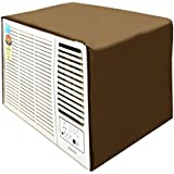 Dream Care Beige Colored Waterproof And Dustproof Window AC Cover For Carrier Estrella CACW12ES3S2 1 Ton 3 Star AC