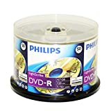 Philips LightScribe DVD-R 16X 4.7GB 50PK Spindle