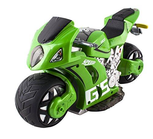 (MTRG) deAO RADIOCOMMANDE MOTO DE COURSE *GP* -vert-