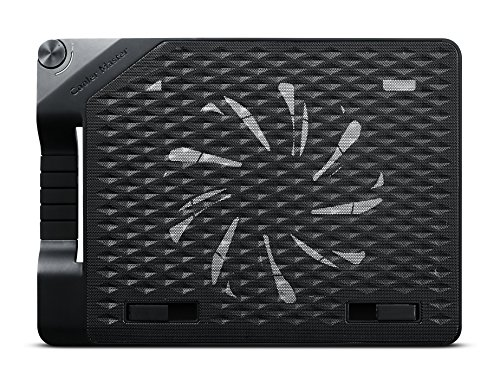 Cooler Master NotePal ErgoStand III - Premium Ergonomic Laptop Cooling Stand with Large 230mm Silent Fan, 4-Port...