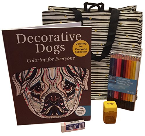 adult-coloring-book-bundle-kit-coloring-book-24-ct-pencils-sharpener-and-eraser-in-a-cute-tote-bag-d