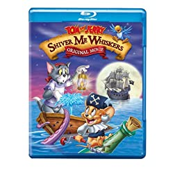 Tom & Jerry: Shiver Me Whiskers [Blu-ray]