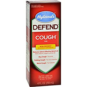 2Pack! Hylands Homepathic Cough Syrup - Defend - 4 fl oz