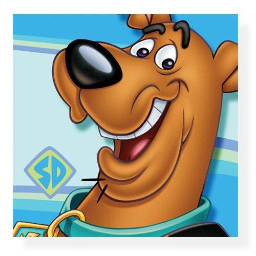 Scooby-Doo! Close Ups 16 Beverage napkins