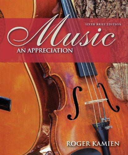 Music: An Appreciation Brief with Digital Music CD