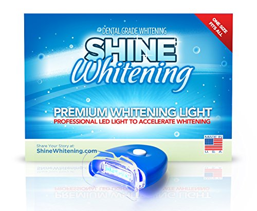Shine Whitening - Blue Teeth Whitening Light - Accelerates Whitening Gel, Whiten Teeth Faster (Blue Light Teeth compare prices)