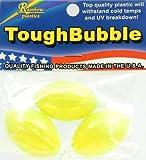 Rainbow Plastics Tough Bubble Floats