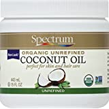 Spectrum Essentials Organic Coconut Oil, Unrefined, 15 Ounce