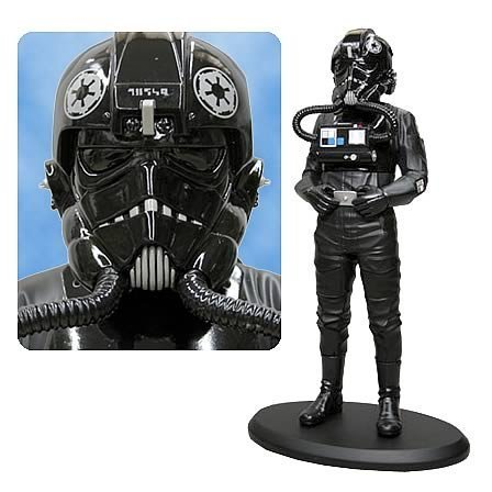 Star Wars TIE Fighter Pilot Cold-Cast Statue - Buy Star Wars TIE Fighter Pilot Cold-Cast Statue - Purchase Star Wars TIE Fighter Pilot Cold-Cast Statue (Attakus, Toys & Games,Categories,Action Figures,Statues Maquettes & Busts)
