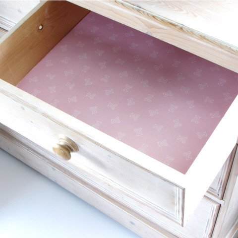 Scented English Baby Pink Drawer Liners By Best British Gifts (Scented Drawer Liners Baby compare prices)