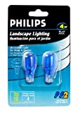 Philips Landscape Lighting 4-Watt T5 12-Volt Wedge Base Blue 2 Pack