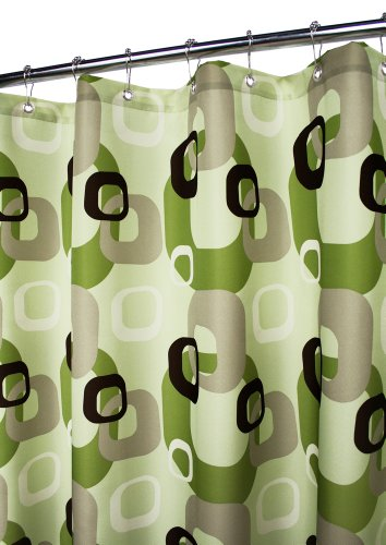 Park B. Smith Geo Squares Watershed Shower Curtain, Meadowood/Field     Smith's