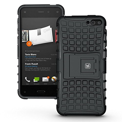 Kayscase Armorbox Heavy Duty Cover Case For Amazon Fire Smartphone 2014 Version (Black)
