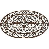 "Esschert Design Cast Iron Doormat - Oval 29"" x 19"""