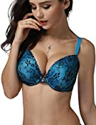 Rose Lady 60728 Women's Plus Size Full Coverage Padded Underwire Lace Bra at Amazon Women's Clothing store: