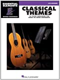 Classical Themes - 16 Pieces Arranged for Three or More Guitarists: Essential Elements Guitar Ensembles Late Beginner Level