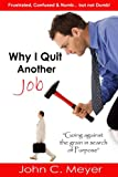 Why I Quit Another Job (0557059127) by Meyer, John
