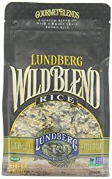 Lundberg Wild Blend Rice, 16 Ounce (Pack of 6)