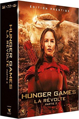 Hunger Games - La Révolte : Partie 2 [Édition Prestige Combo Blu-ray 3D + Blu-ray + DVD] [Edizione: Francia]