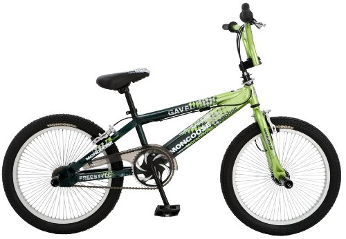 Mongoose Gavel Boy's Freestyle Bike (20-Inch Wheels, Green)
