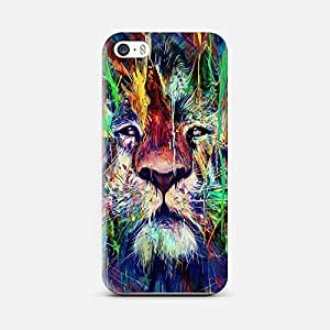 QRIOH iPhone 5/5S, Premium Quality 3D PRINT Protective Case with Scratchproof for iPhone 5/5S- I'm The King Case
