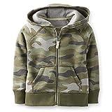 Carter's Toddler Boys Camouflage Fleece Full-zip Jacket