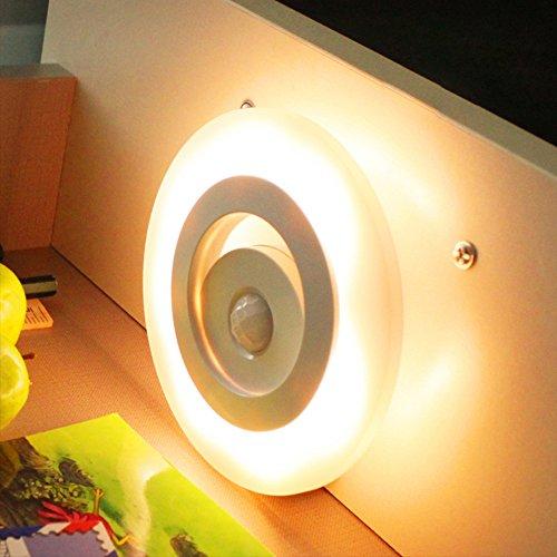 Forepin portal nachtlicht k rper induktion led nachtlampe - Schlafzimmer tischlampe ...