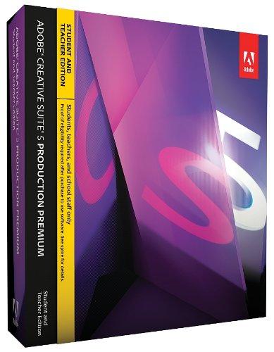 Adobe Creative Suite 5 Production Premium Student & Teacher Edition[OLD VERSION]