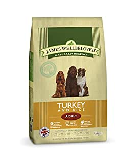 James Wellbeloved Adult Turkey and Rice Kibble 15 kg