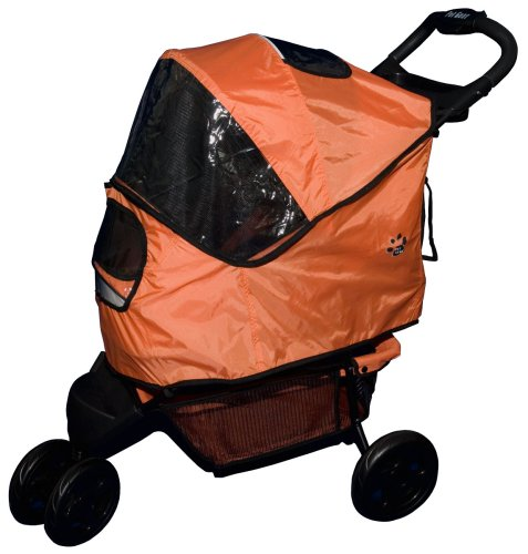 Pet Gear Weather Cover for Sportster Pet Stroller for cats and dogs, Mango
