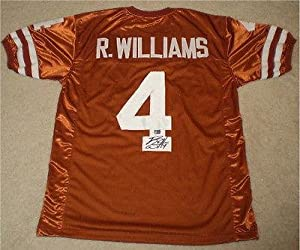 Signed Roy Williams Jersey - Ut Texas Longhorns #4 Coa - Autographed College Jerseys by Sports+Memorabilia