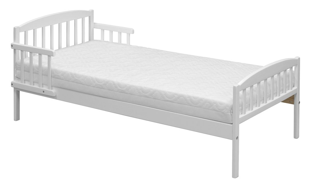 Babyway Mira Toddler Bed (White)       BabyCustomer review and more description