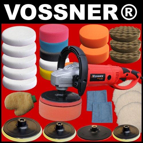 Profi-Poliermaschine-VOSSNER--PPM-1600-Spezial-Edition-Mega-Zubehr-SET-3-NEU
