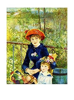 Legendarte Lienzo Sulla Terrazza di Pierre Auguste Renoir