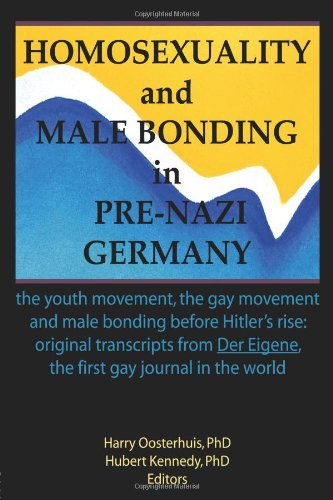 同性恋和男性粘接前纳粹德国: 青年运动、 同性恋运动和男性粘接前希特勒的崛起
