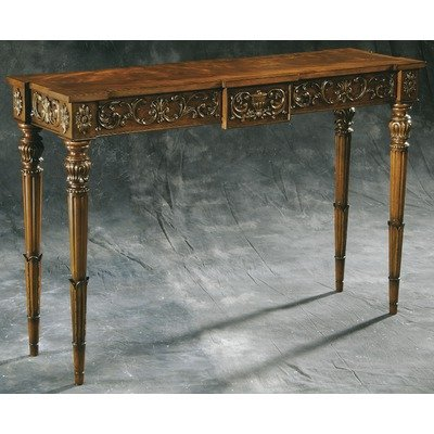 Cheap Accents Hand Carved Console Table (B008XON24G)