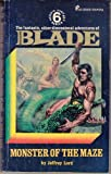 img - for Monster of the Maze (Richard Blade Heroic Fantasy Series, 6) book / textbook / text book