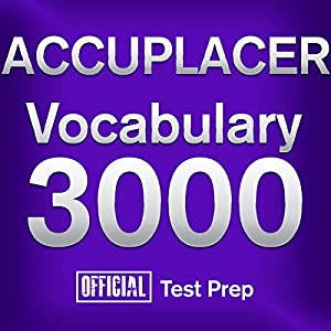 Official ACCUPLACER Vocabulary 3000 Audiobook