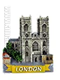 Fridge Magnet - London Westminster Abbey, Souvenir Fridge Magnet of Royal Church - 5397