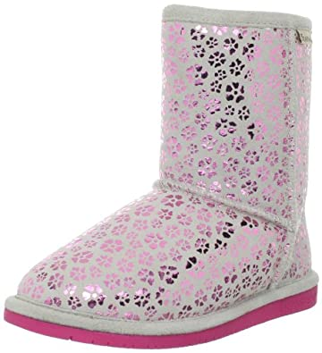 BEARPAW Betsey Pull-On Boot (Little Kid/Big Kid),Hot Pink,10 M US Toddler