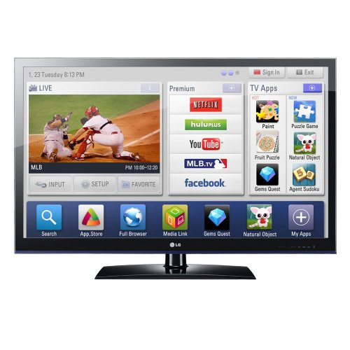 LG Infinia 42LV5500 42-Inch 1080p 120 Hz LED HDTV with Smart TV