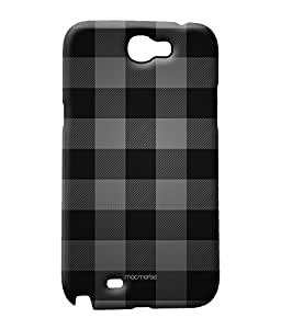 Checkmate Black - Sublime Case for Samsung Note 2