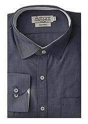 Arihant Men's Regular Fit Poly Cotton Plain Shirt (AR7131740)