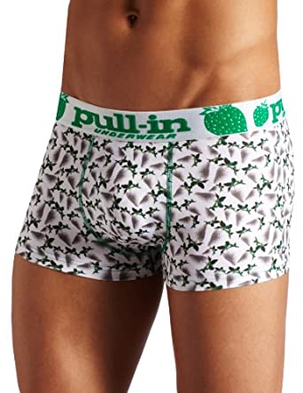 Pull-In Men's Shorty Negatif Short, Multi, Small