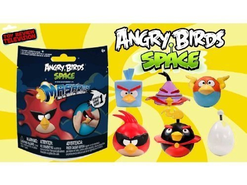 Angry Birds Space Mash'ems Series 1 - Pack of 2 (Angry Bird Mashems Space compare prices)