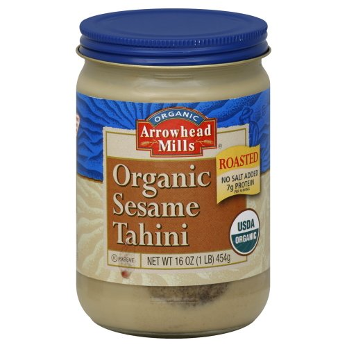 Arrowhead Mills Organic Roasted Sesame Tahini 16 oz by Arrowhead Mills