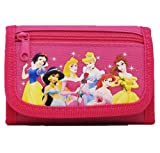 Disney Princess Tri-fold Wallet Pink