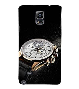 EPICCASE times now Mobile Back Case Cover For Samsung Galaxy Note 4 EDGE (Designer Case)