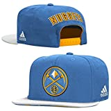 Denver Nuggets Adidas 2015 NBA Draft Day Authentic Snap Back Hat (Color: Baby Blue, Tamaño: One Size Fits Most)